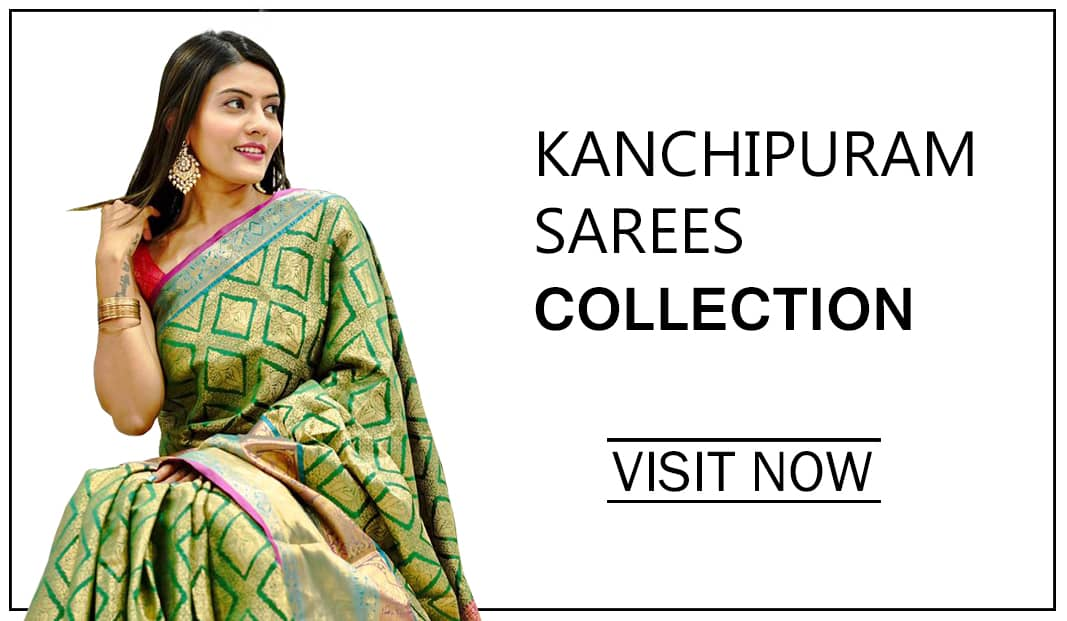 Traditional kanchipuram saree by Grabandpack banner 2021