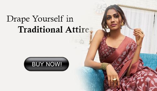Brown Colored Beautiful Brasso Soft Silk Fancy Saree - Elegance