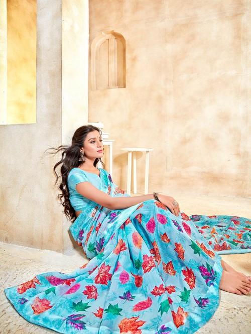 printed saree collection