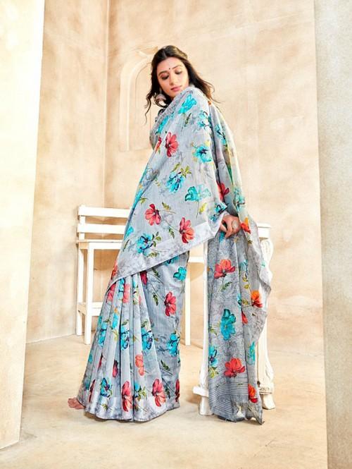 printed saree online