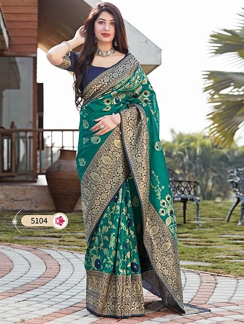 Green Art Silk Designer Traditional Saree - gnp0108708