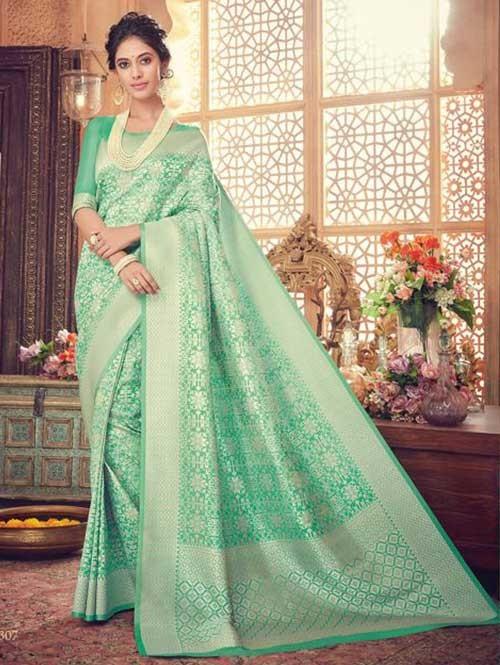 Green- Kaya Silk