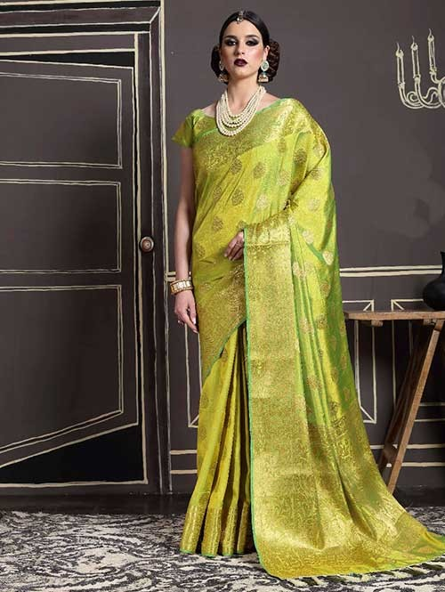 Green-Kshama Silk