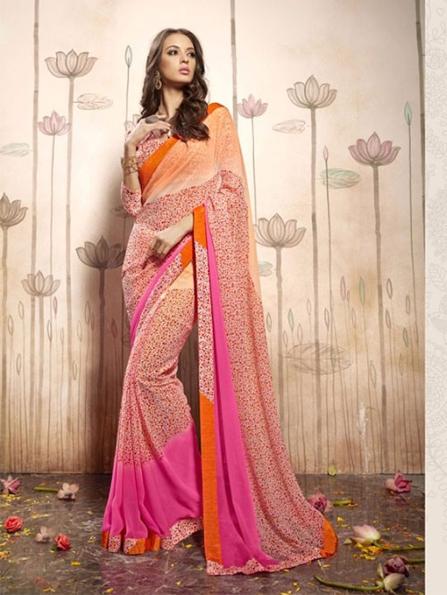 multi-colored-beautiful-faux-georgette-saree-with-printed-blouse-gnp0000170