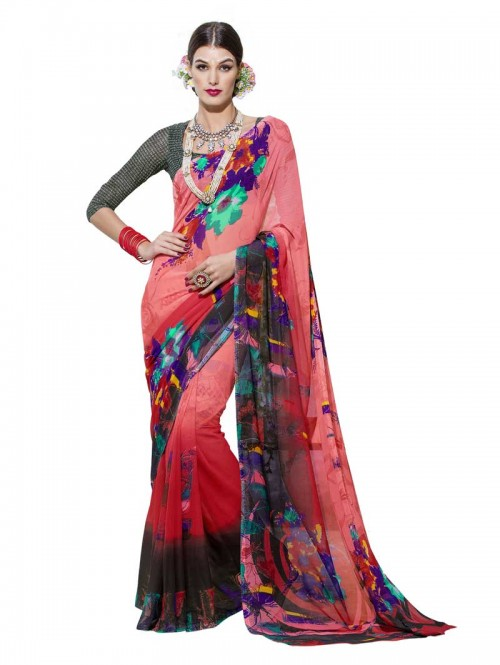 orange-color-floral-pinted-beautiful-georgette-saree-with-blouse-gnp0000034