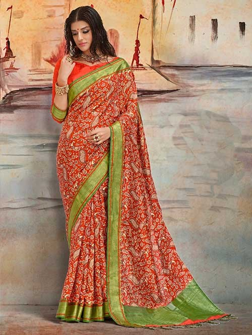 Orange- Karla Silk