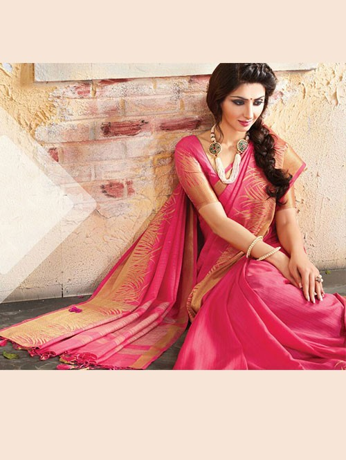 pink-colored-beautiful-embroidered-cotton-saree-with-matching-blouse-gnp0000225