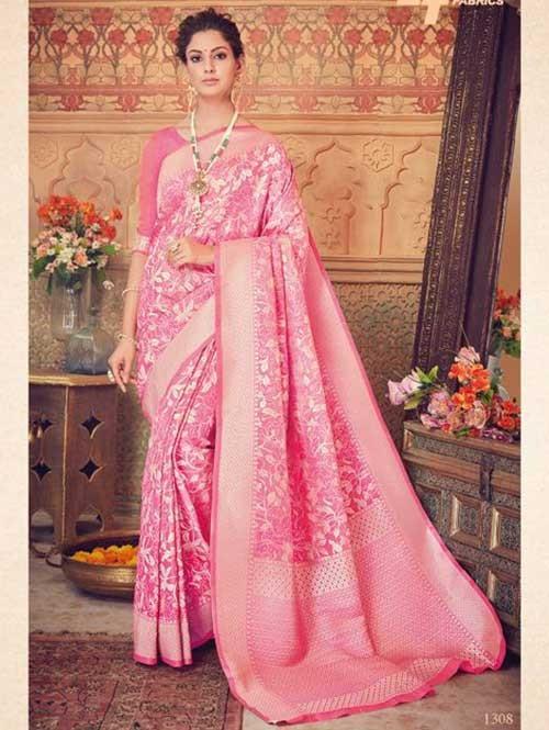 Pink- Kaya Silk