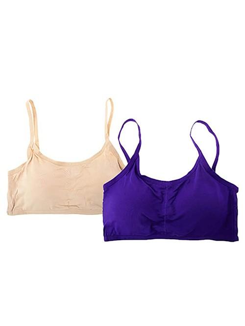 Beige & Purple