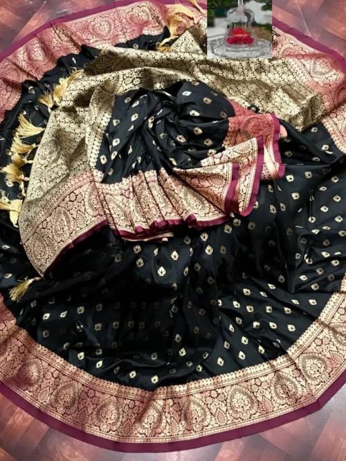 zari woven banarasi silk saree grabandpack