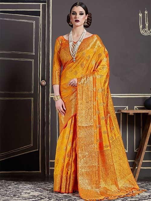 Yellow-Kshama Silk
