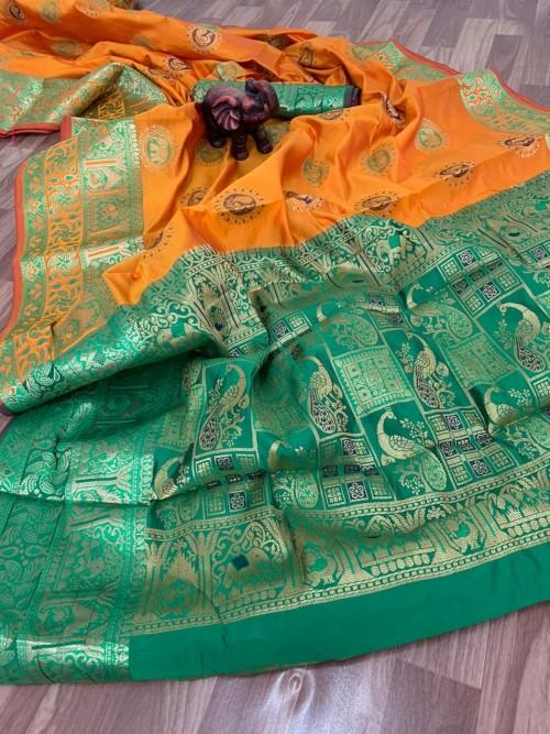 banarasi silk saree ke blouse design - grabandpack