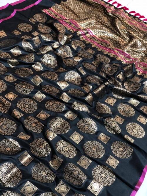 Banarasi silk zari woven saree