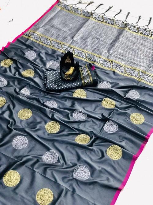 grey saree blouse
