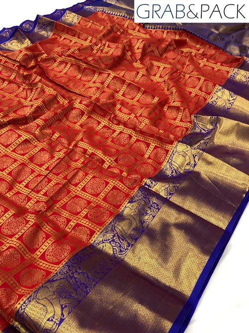 Grab and Pack sarees online