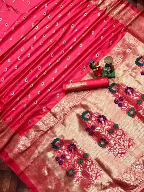 banarasi lichi silk saree