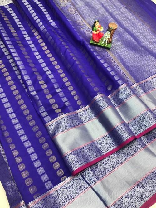 best saree in Purple coloured