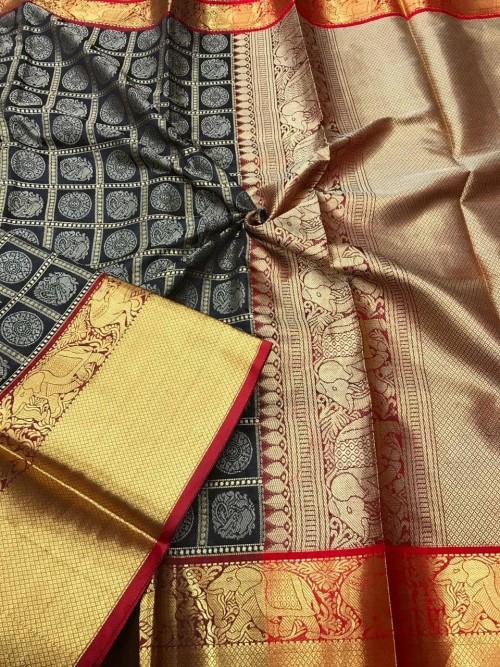 Black color saree online india