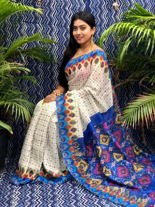 kalamkari saree by grabandpack