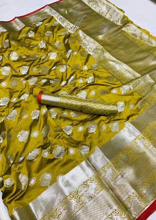 womens-lichi-silk-weaving-saree-in-yellow-silk-sarees-online-gnp005988