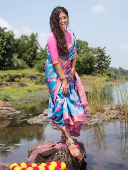 new saree design - Grab and Pack