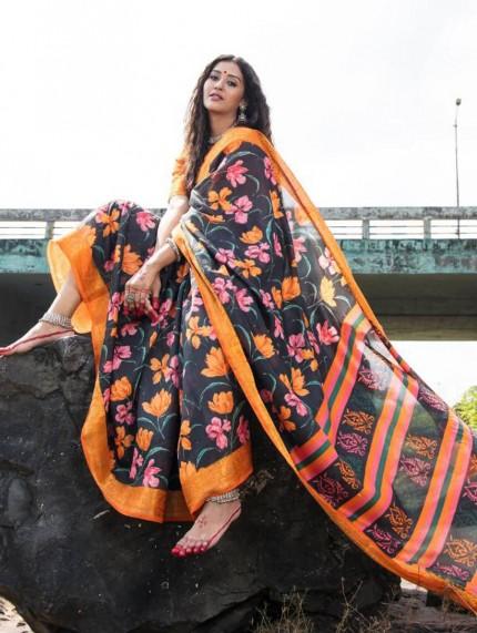 buy cotton sarees online - grabandpack