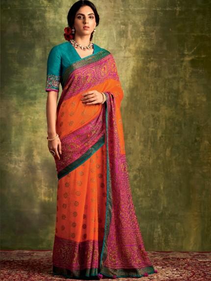 Printed saree by grabandpack