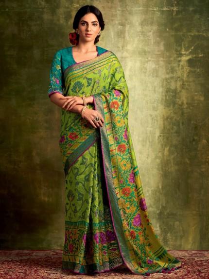 printed saree blouse pattern