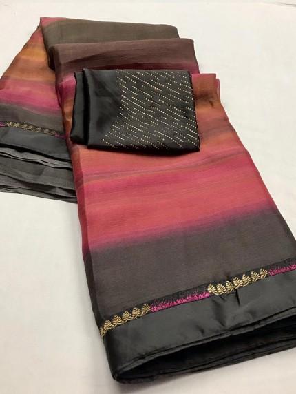 Chiffon Party wear saree