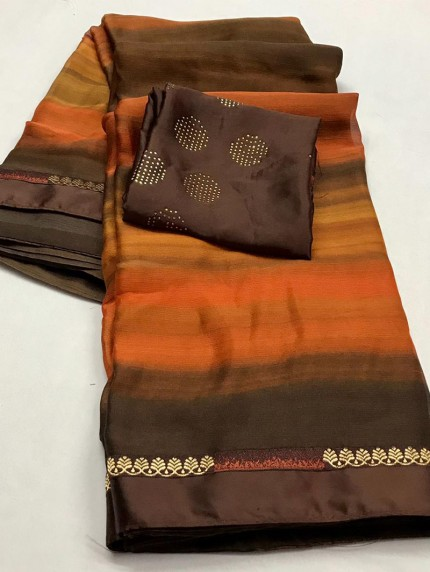 chiffon saree for party wear