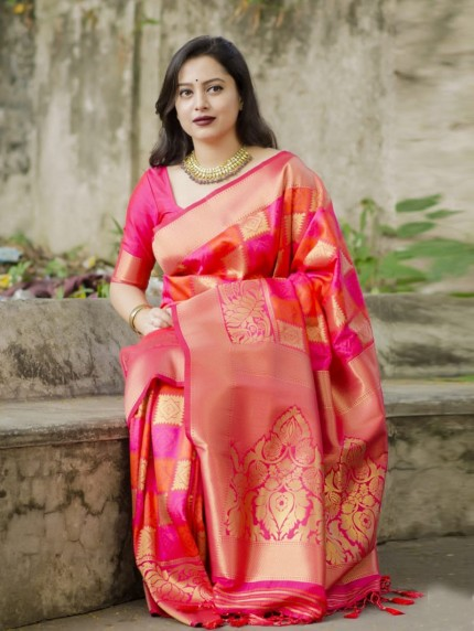 New pure silk 2021 Design saree by GrabandPack