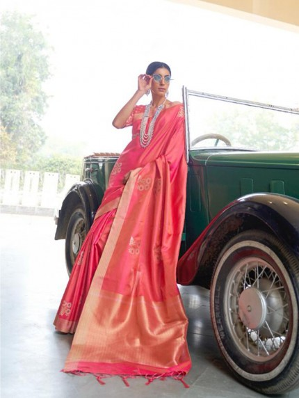 Soft Banarasi Silk Zari Base saree