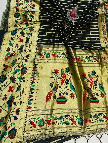 indian Branded Pethani Silk Saree