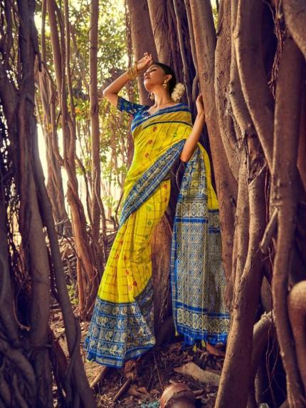 grabandpack linen sarees online boutique