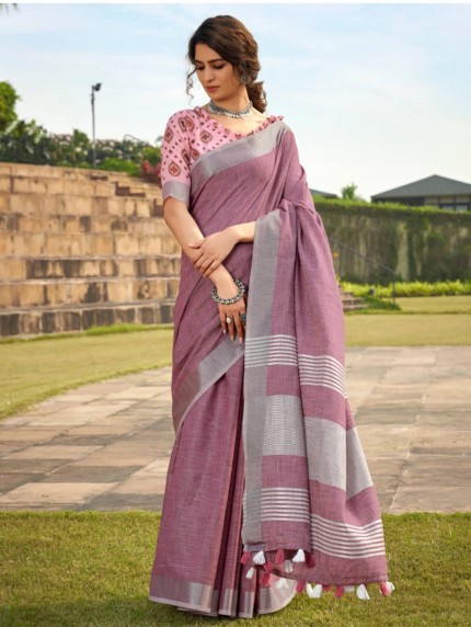 linen sarees under 1000 - grabandpack