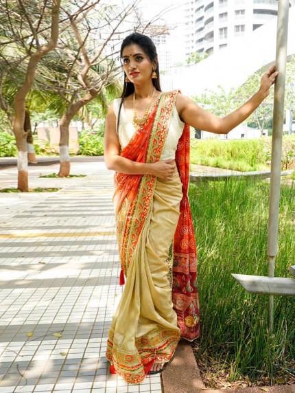 grabandpackf ancy saree with price