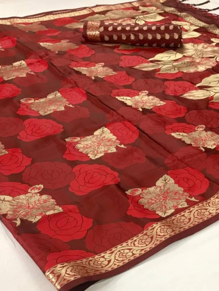 Satin silk sarees online india by grabandpack.com