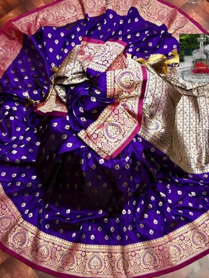 grabandpack zari woven banarasi silk saree