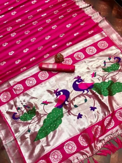 Soft silk indian saree