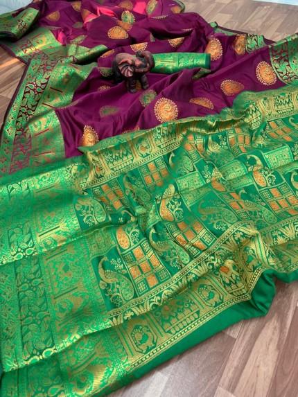 banarasi silk saree images