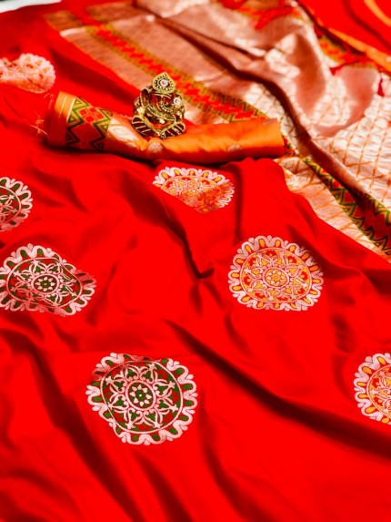 Red silk saree blouse designs grabandpack