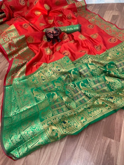 banarasi silk saree ke blouse design - grabandpack
