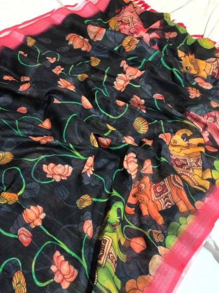 linen sarees in chennai silks