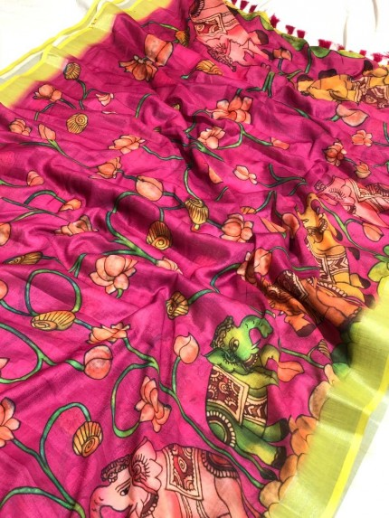 Lenin Digital Printed saree