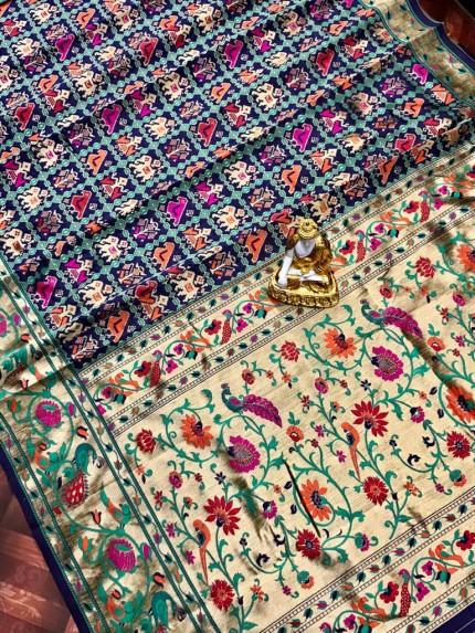 Banarasi Silk Patola Saree