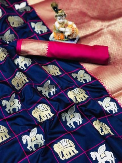 pure soft silk sarees online shopping at grabandpack