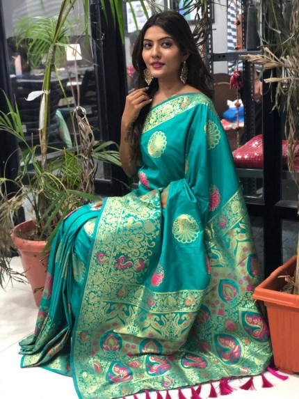 latest pure silk sarees