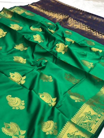 Green Trending saree 2021