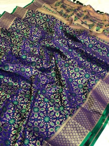 famous silk saree brands GRABANDPACK