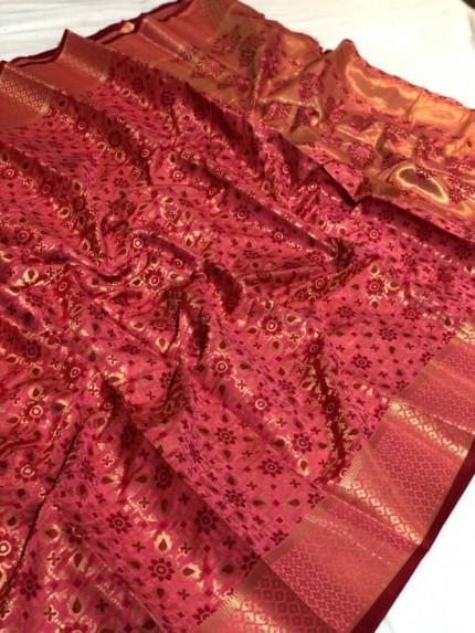 soft silk designer sarees at GrabandPack